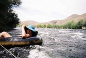 Relaxed River Tubing