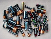 The batteries I used