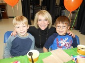 "Winter Carnival ""Lunch with the Principal"" Winner"