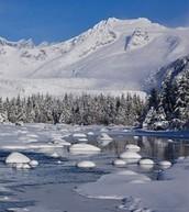 Winters in Alaska