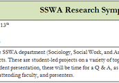 SSWA Research Symposium