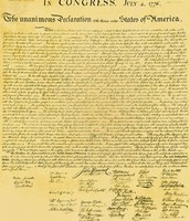 Thomas wrote the Declaration of Independence