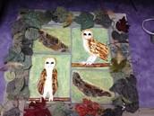 Owl tiles