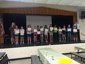 Third Grade Rewards for Honor Roll