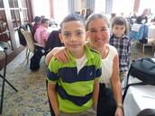 Ms. Kelleher and Jostin