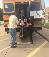 Bus safety drill- thanks for your help with this process!