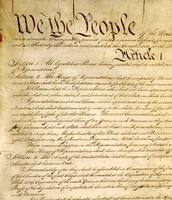 The beginning of the constitution