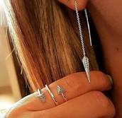 Trend alert earrings