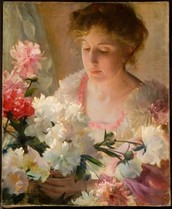 Lecture: Nature Bares All:  A playful look at why Charles Curran chose flowers and females