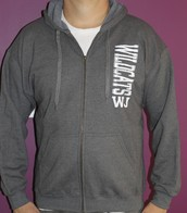 Grey Full-Zip Hoodie - *Sale $25*
