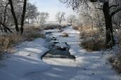 Winter in Pipestone