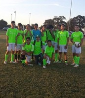 Fist game with my club team