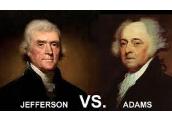 Thomas Jefferson V.S John Adams