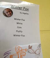 Winter Fox by Angelina