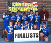 Central Soccer Cup - 03 Boys Orange (Finalist)