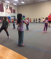 Working with a partner in PE