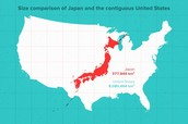 Size of Japan