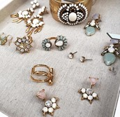 Rings and Earrings Galore