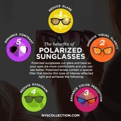 Benefits of polarized sunglasses!