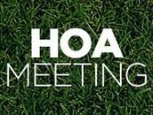 HOA BOARD MEMBERS & HOA MEETINGS