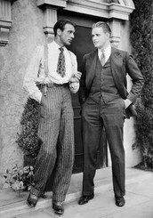 Mens fashion in the 1930s