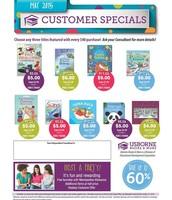 Customer Specials