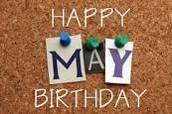 May Birthdays!