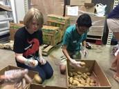 and more potatoes
