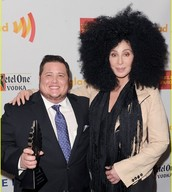 Cher & Chaz Bono at the 2014 GLAAD Awards