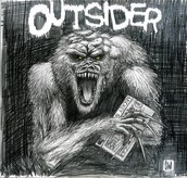 The outsider.