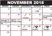 Reminder: Secondary PDD and Elementary Workday is on November 16th