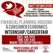 FPHCE Internship & Career Fair - Jan. 29