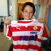 Daire's Newest Soccer Jersey