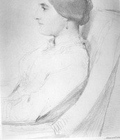 A sketch of Lady Duff-Gordon