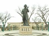 Statue of Louis Riel