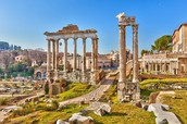 Italy is full of the histories of past empires...