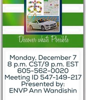 Monday Night 20-Minute LIVE Discover Arbonne & Training Calls!