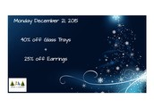 Monday Dec 21 Noon, Until Tuesday Dec 22, 11:59 am