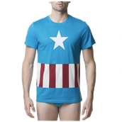 Marvel Captain America Men's Underoos Brief Set