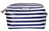 Navy Stripe Pouf