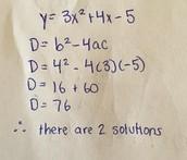 When D > 0