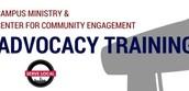 Advocacy Training opportunity