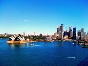 Sydney, Australia..........Here I Come!