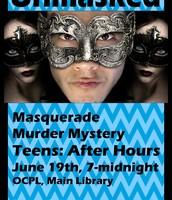 Unmasked: Masquerade Murder Mystery