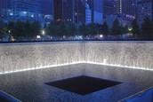 Water in the memorial