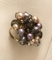 Sofia Cluster Ring-Smoky