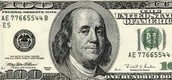 the 100 dallor bill, ben is one of the first people that's not a president and is on a dollar bill.