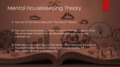 Dreams as Housekeeping Theory