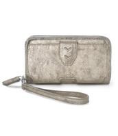 Madison Tech Wallet - Brushed Metallic