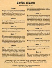 Bill of rights, 10 amenddement